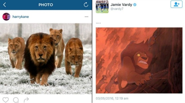 Vardy destroyed Kane (Picture: Instagram/Twitter)