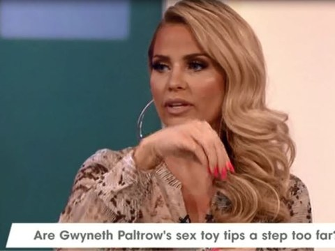 Katie Price on Loose Women admits to having a crystal-topped BUTT PLUG, so now you know