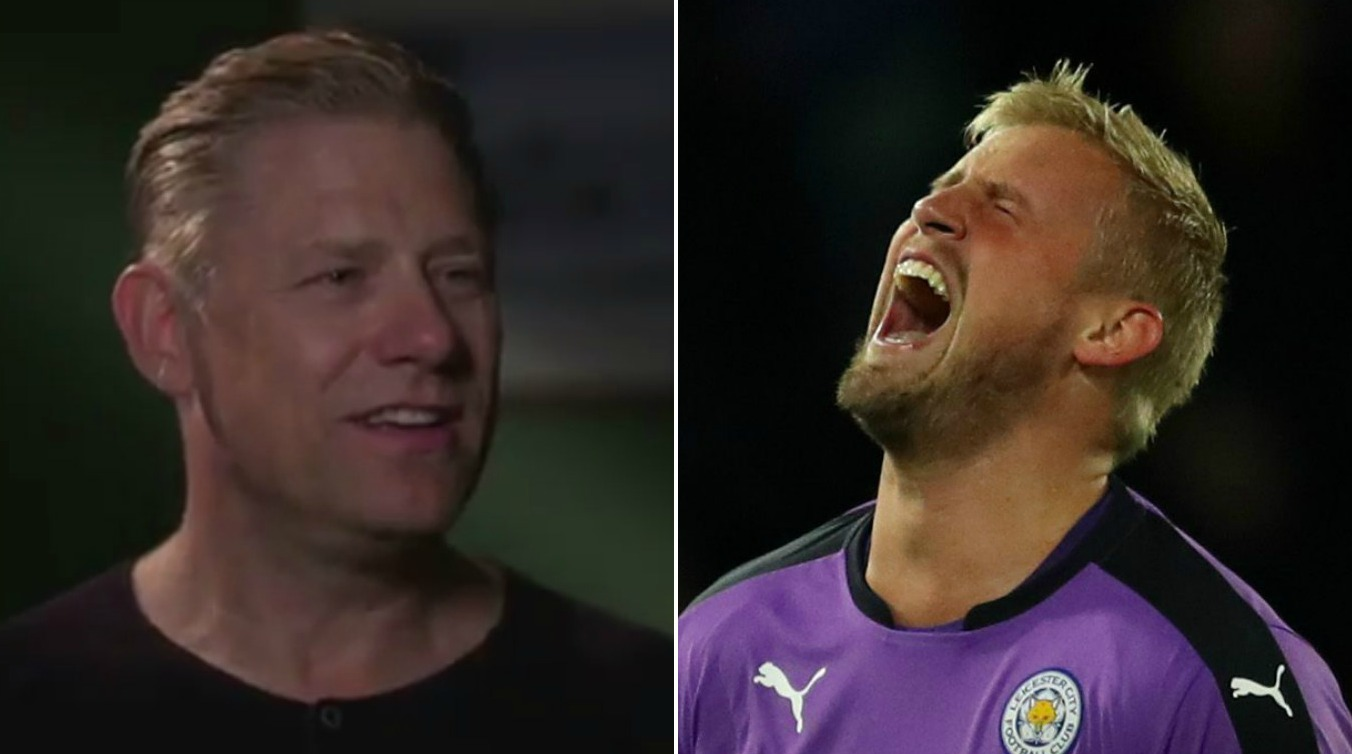 Manchester United icon Peter Schmeichel reveals Kasper Schmeichel has always dreamt of playing at Old Trafford