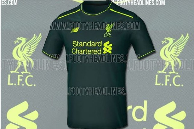 Image containing the claimed new Liverpool 2016 17 away shirt is leaked  online 4fa620399
