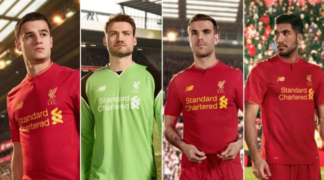 the latest 9b17e 7b1db Liverpool news: Home kit launched for 2016/17 season | Metro ...