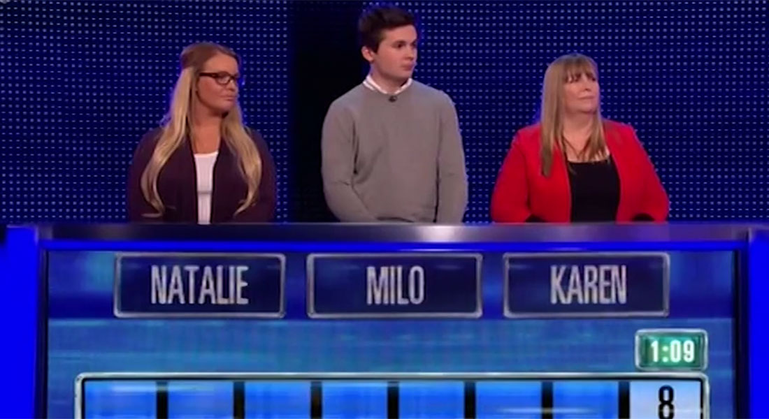 This contestant on The Chase thought Justin Bieber was the Canadian Prime Minister…