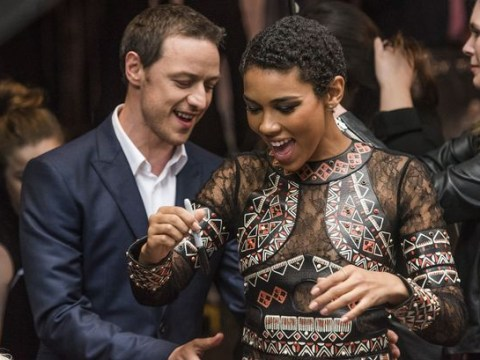 James McAvoy linked to X-Men: Apocalypse co-star Alexandra Shipp after announcing marriage split
