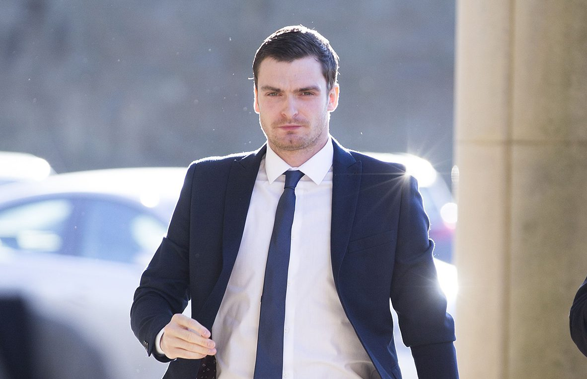 Adam Johnson 'banned from speaking to his baby daughter'