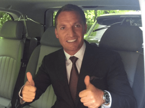 Ex-Liverpool manager Brendan Rodgers' first photo as Celtic manager is just perfect