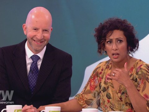 Saira Khan and husband Steve Hyde appear on Loose Women insisting 'there's nothing wrong with our relationship'