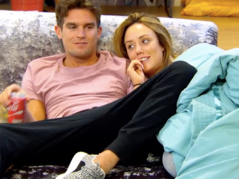 Geordie Shore: Gary Beadle tries to win Charlotte Crosby over – by stripping