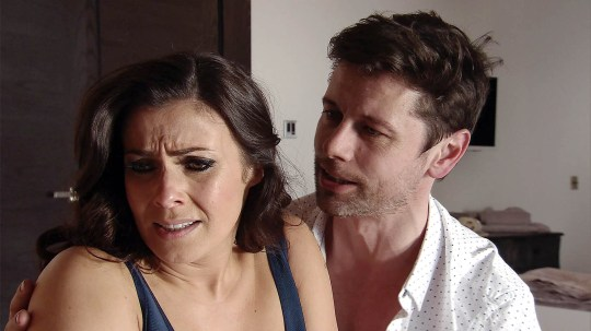 FROM ITV STRICT EMBARGO - No Use Before Sunday 10th April 2016 Coronation Street - Ep 8888 Friday 22 April 2016 - 2nd Ep Michelle Connor [KYM MARSH] confides in Will [LEON OCKENDEN] she just wants to be with someone who cares about her. Will kisses her and she responds passionately. Michelle leads Will upstairs and they kiss again. Picture contact: david.crook@itv.com on 0161 952 6214 This photograph is (C) ITV Plc and can only be reproduced for editorial purposes directly in connection with the programme or event mentioned above, or ITV plc. Once made available by ITV plc Picture Desk, this photograph can be reproduced once only up until the transmission [TX] date and no reproduction fee will be charged. Any subsequent usage may incur a fee. This photograph must not be manipulated [excluding basic cropping] in a manner which alters the visual appearance of the person photographed deemed detrimental or inappropriate by ITV plc Picture Desk. This photograph must not be syndicated to any other company, publication or website, or permanently archived, without the express written permission of ITV Plc Picture Desk. Full Terms and conditions are available on the website www.itvpictur