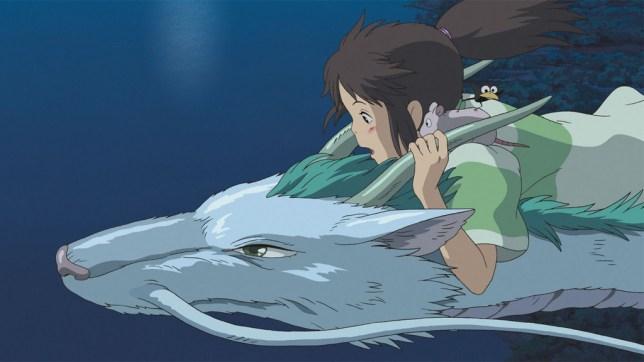 Futaki worked on Spirited Away (Picture: Studio Ghibli)