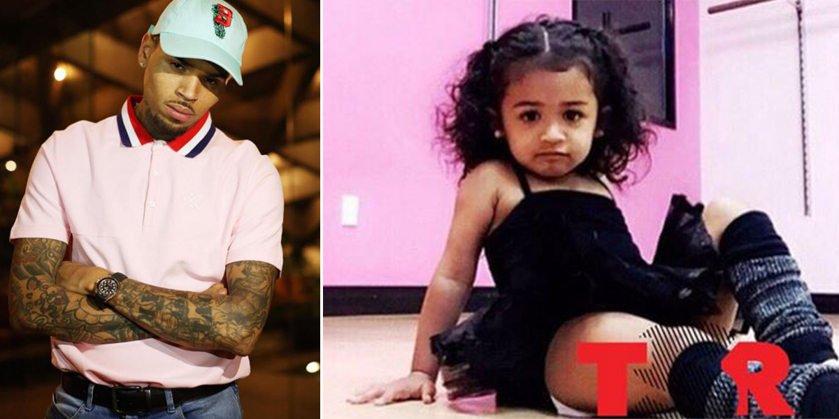 Chris Brown slams Nia Guzman for letting their daughter Royalty wear a tutu to her ballet class
