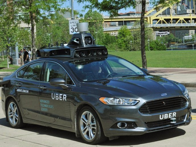 Would you get in a driverless Uber?