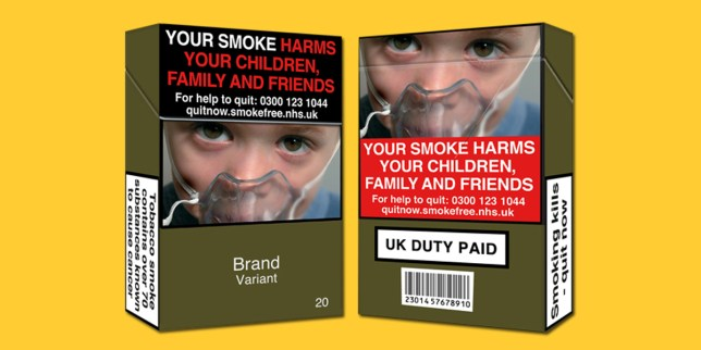 There's a big change coming to cigarette packets - here's what you need to know Credit: ASH