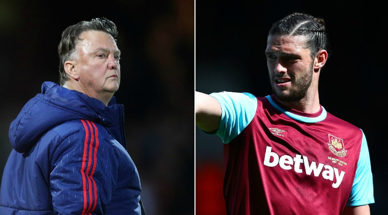 Louis van Gaal admits he's scared of Andy Carroll ahead of West Ham v Manchester United
