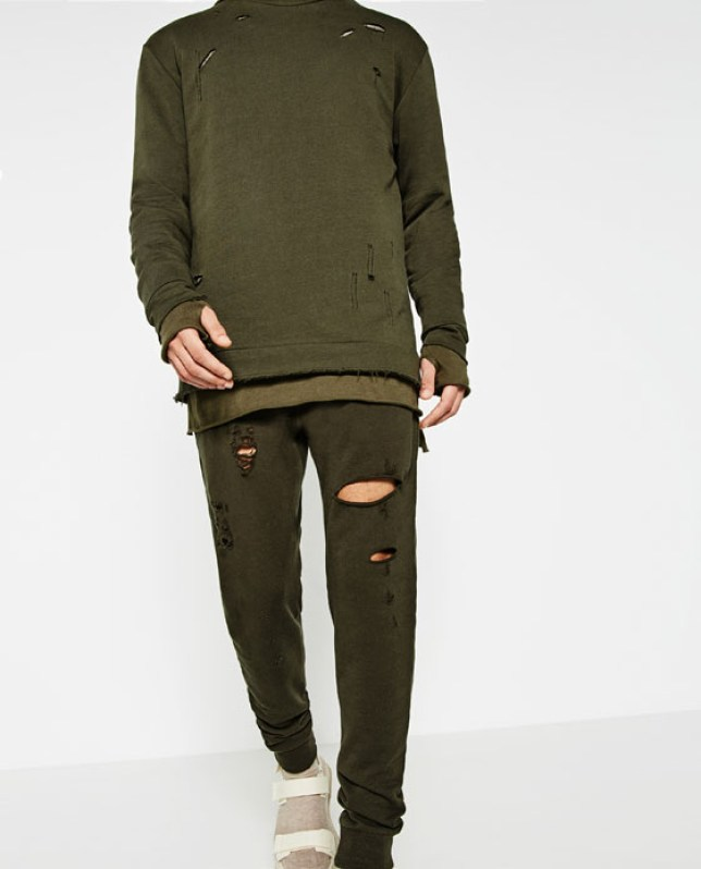 18fa0803adb Zara s Streetwise collection has been accused of ripping off YEEZY Season 2