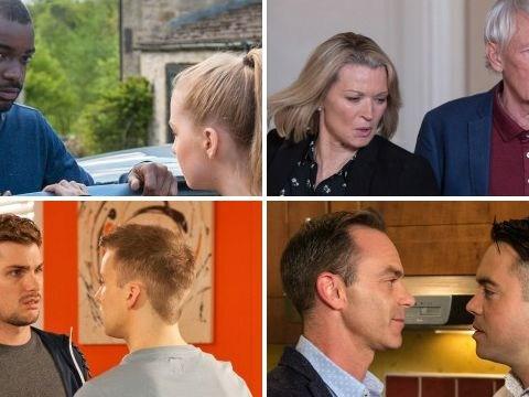 12 soap spoiler pictures: EastEnders killer showdown, Coronation Street return, Emmerdale split