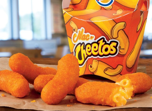 burger king mac n cheese cheetos