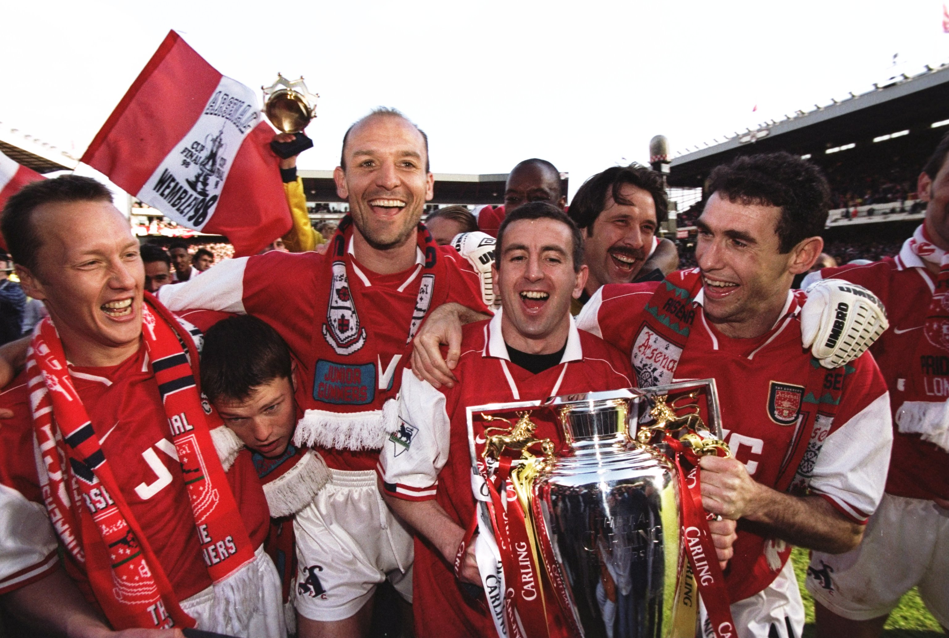 Martin Keown reveals the role Tina Turner played in helping Arsenal win the double in 1997-98