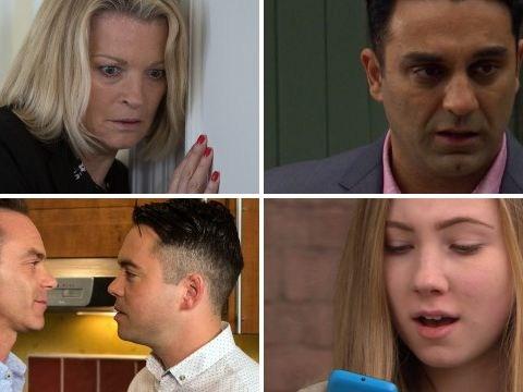 25 soap spoilers: Coronation Street sex shock, EastEnders deadly horror, Emmerdale lie, Hollyoaks drugs torment
