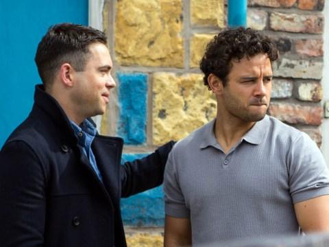 Coronation Street star Bruno Langley admits he cried over Ryan Thomas' exit