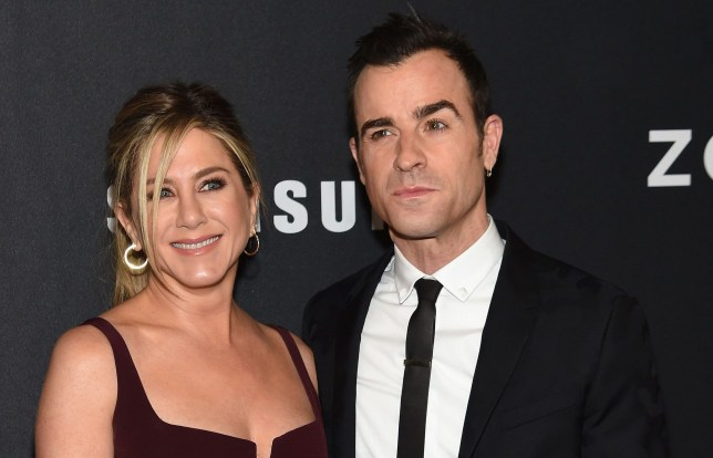Justin Theroux with wife Jennifer Aniston (Picture: WireImage)