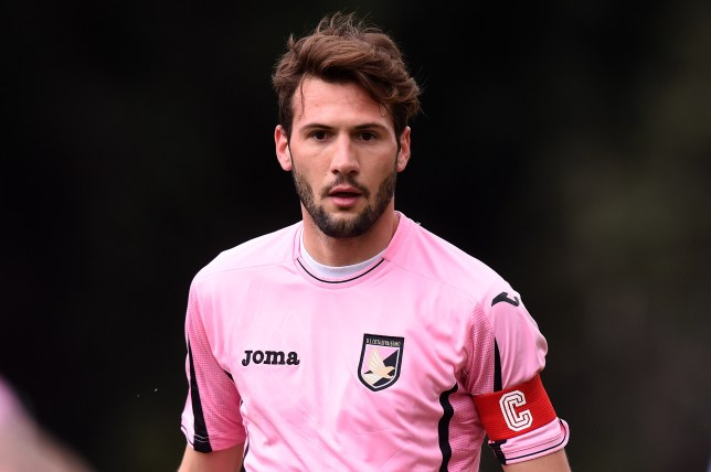 PALERMO, ITALY - MARCH 16: Franco Vazquez of Palermo in action during a test match between US Citta' di Palermo and Parmonval at Tenente Carmelo Onorato training center on March 16, 2016 in Palermo, Italy. (Photo by Tullio M. Puglia/Getty Images)