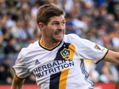 Former Liverpool Steven Gerrard captain rolls back the years with assist for Giovani dos Santos