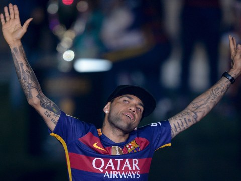 Barcelona chief confirms Manchester United transfer target Dani Alves is leaving