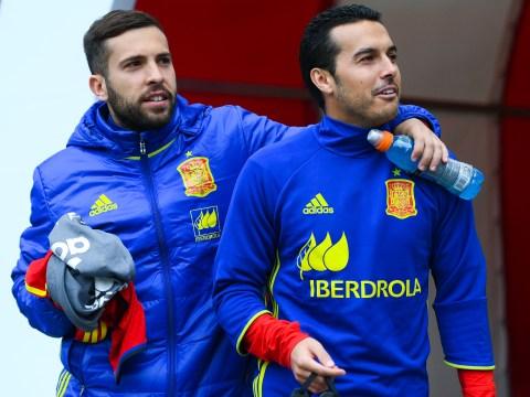 Jordi Alba urges Barcelona to re-sign homesick Chelsea winger Pedro