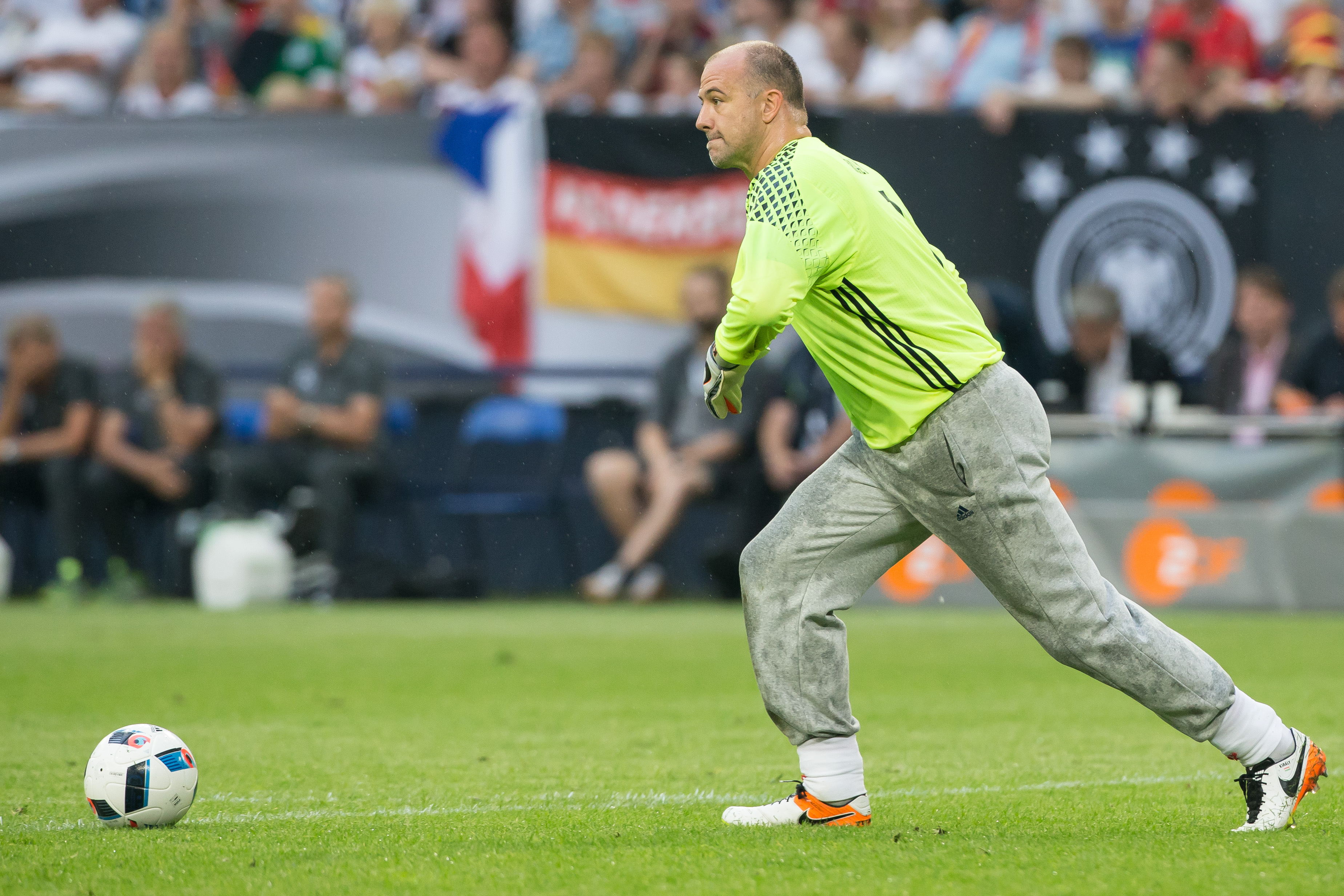 Crystal Palace legend Gabor Kiraly becomes oldest player to ever feature at European Championships
