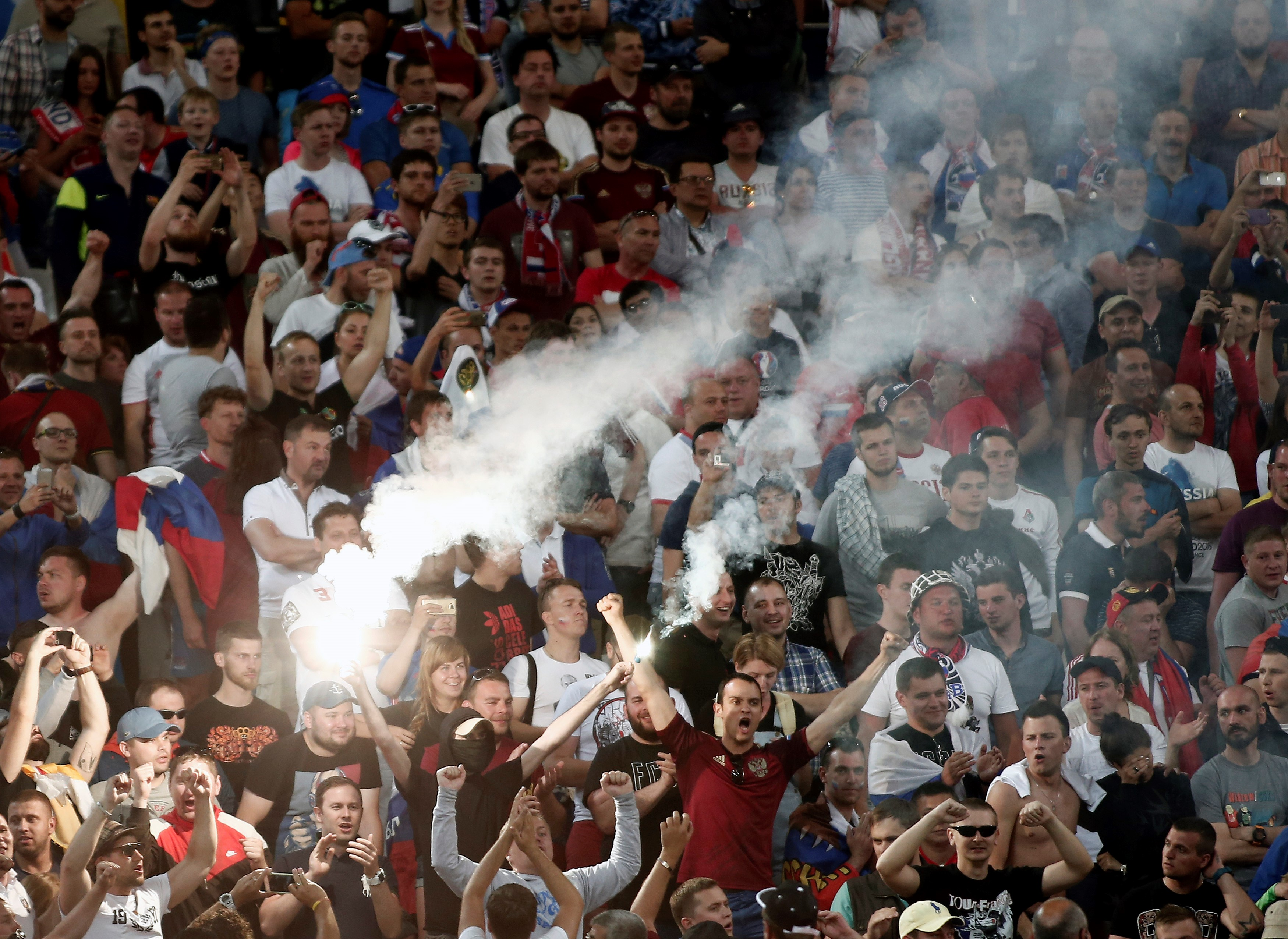 Russia star Artem Dzubya claims English media is going over the top on fan violence at Euro 2016