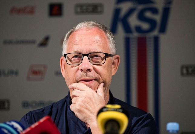 Iceland's Swedish coach Lars Lagerback hit out at Portugal's theatrics (Picture: Getty)