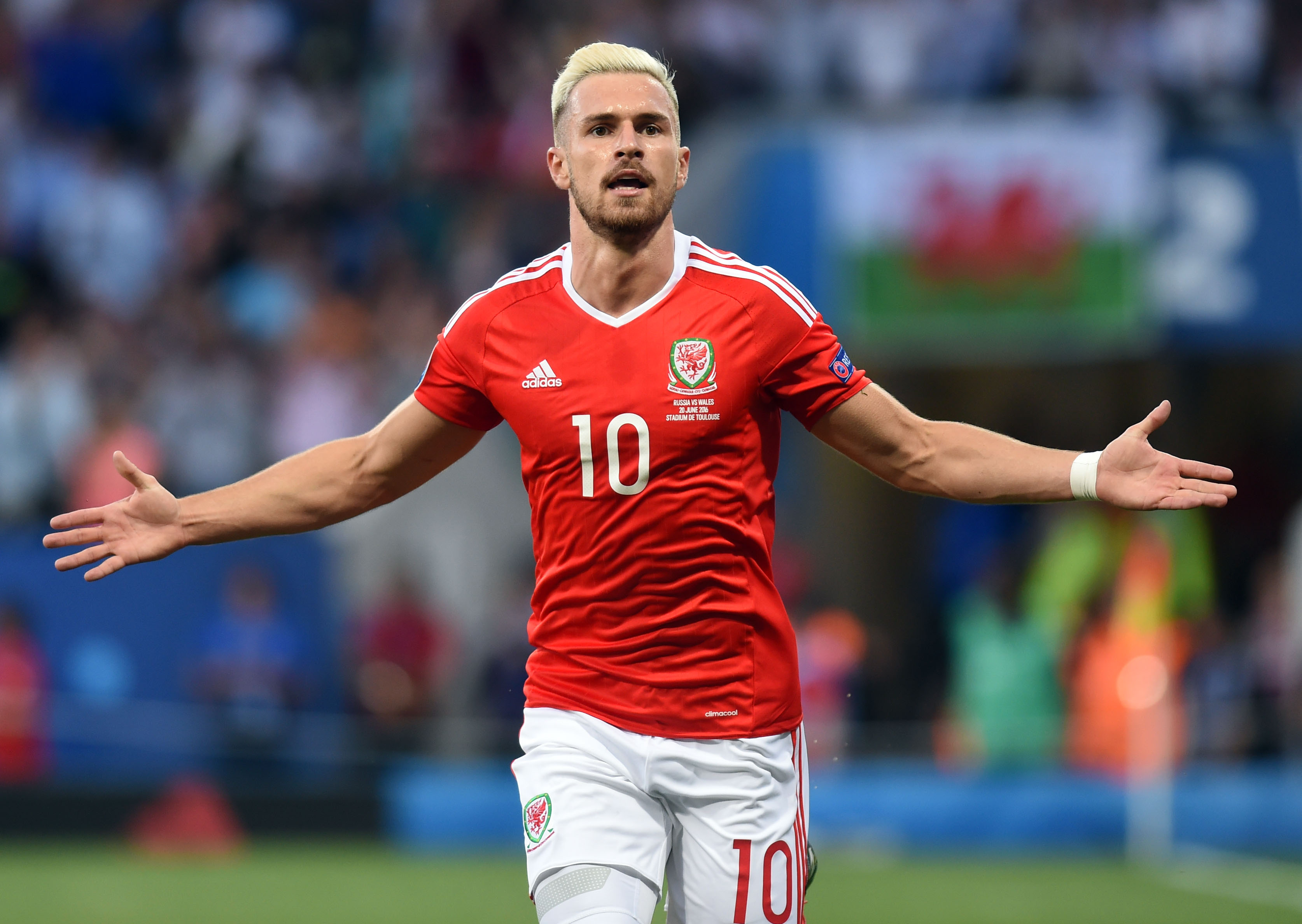Russia 0 Wales 3: Aaron Ramsey shines brightest as Welsh cruise into last 16