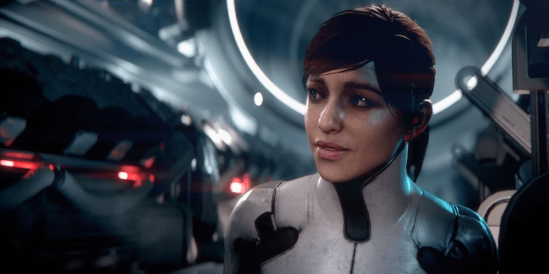 Mass Effect: Andromeda - FemRyder was revealed first this time