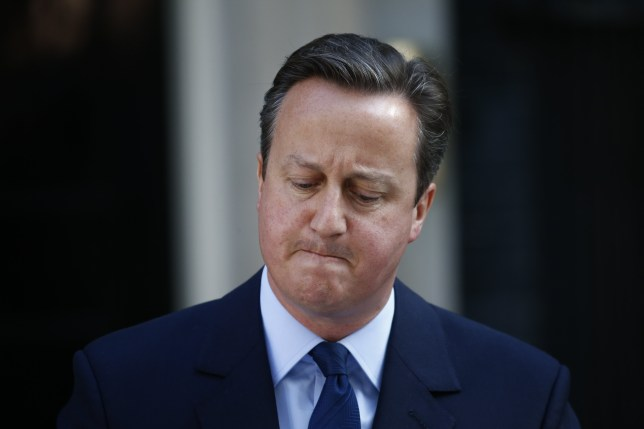On Friday, David Cameron said he would stand down as Prime Minister (Picture: PA)