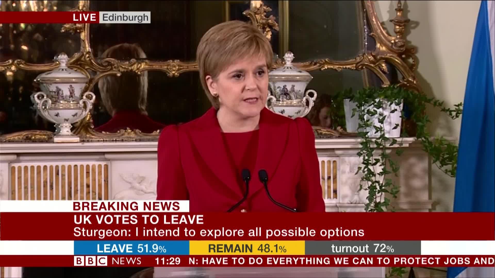 Nicola Sturgeon 'to prepare for new Scottish independence referendum'
