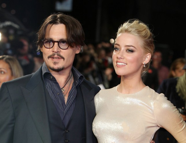 "Johnny Depps texts to Amber Heard exposed as 'fake'. FILE - In this Nov. 3, 2011 file photo, U.S. actors Johnny Depp, left, and Amber Heard arrive for the European premiere of their film, ""The Rum Diary,"" in London. Attorneys for Heard, said Tuesday, May 31, 2016, that the model-actress has given a statement to Los Angeles police to support her account that Depp was physically abusive to her during a fight on May 21, 2016, in their Los Angeles home. Heard filed for divorce Monday, May 23, 2016, citing irreconcilable differences. (AP Photo/Joel Ryan, File)"