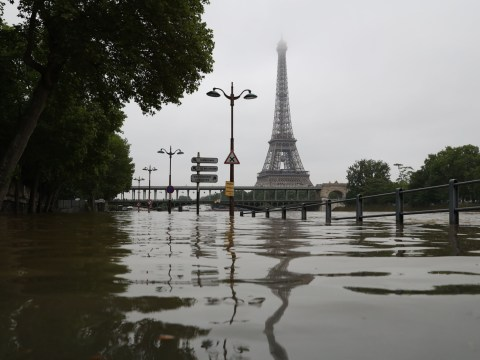 Paris shuts Louvre museum to try and save artworks from severe floods