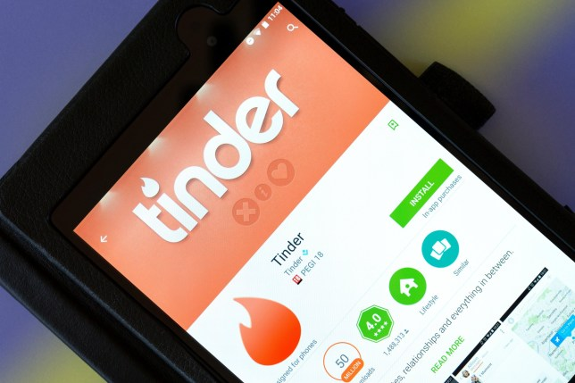 Man banned from sex without giving police 24 hours notice says 'It puts an end to your life Credit: Alamy. FCY4H1 Dating app Tinder on an android tablet PC, Dorset, England, UK