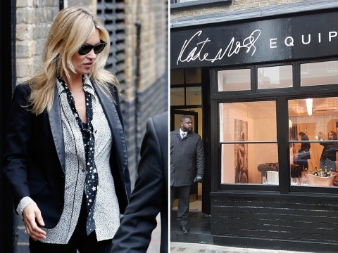 Only THREE things were bought at the launch of Kate Moss's pop-up shop Equipment