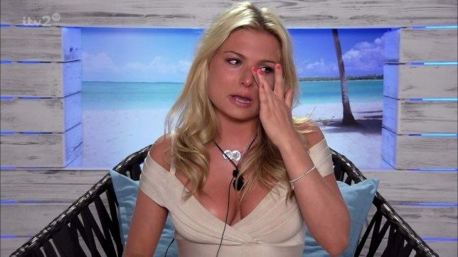 A tearful Zara Holland after Adam Maxted coupled up with Olivia Buckland on ITV reality series 'Love Island'. Broadcast on ITV2 HD. Featuring: Zara Holland Where: Spain When: 10 Jun 2016 Credit: Supplied by WENN **WENN does not claim any ownership including but not limited to Copyright, License in attached material. Fees charged by WENN are for WENN's services only, do not, nor are they intended to, convey to the user any ownership of Copyright, License in material. By publishing this material you expressly agree to indemnify, to hold WENN, its directors, shareholders, employees harmless from any loss, claims, damages, demands, expenses (including legal fees), any causes of action, allegation against WENN arising out of, connected in any way with publication of the material.**