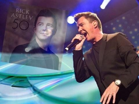 Vandals (with zero music taste) have wrecked copies of Rick Astley's new album