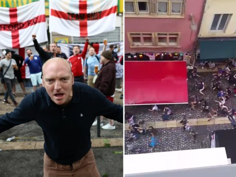 Now French ultras are filmed attacking England fans at Euro 2016