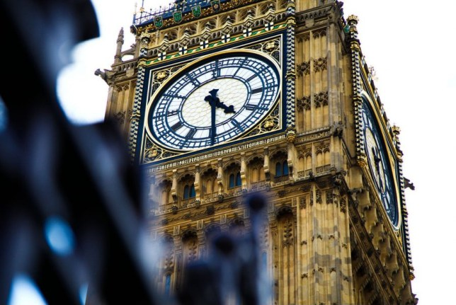 Mandatory Credit: Photo by Dinendra Haria/REX/Shutterstock (5662029i)nElizabeth Tower which houses Big BennElizabeth Tower which houses Big Ben, London, Britain - 27 Apr 2016nThe Big Ben bells will be silenced for several months as part of a £29m programme to repair the clock faces and mechanism as well as cracks in the tower's masonry and corrosion in the roof.n