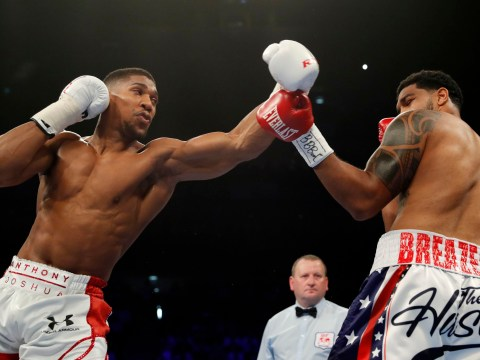 Anthony Joshua was almost forced to pull out of Dominic Breazeale fight, says Eddie Hearn