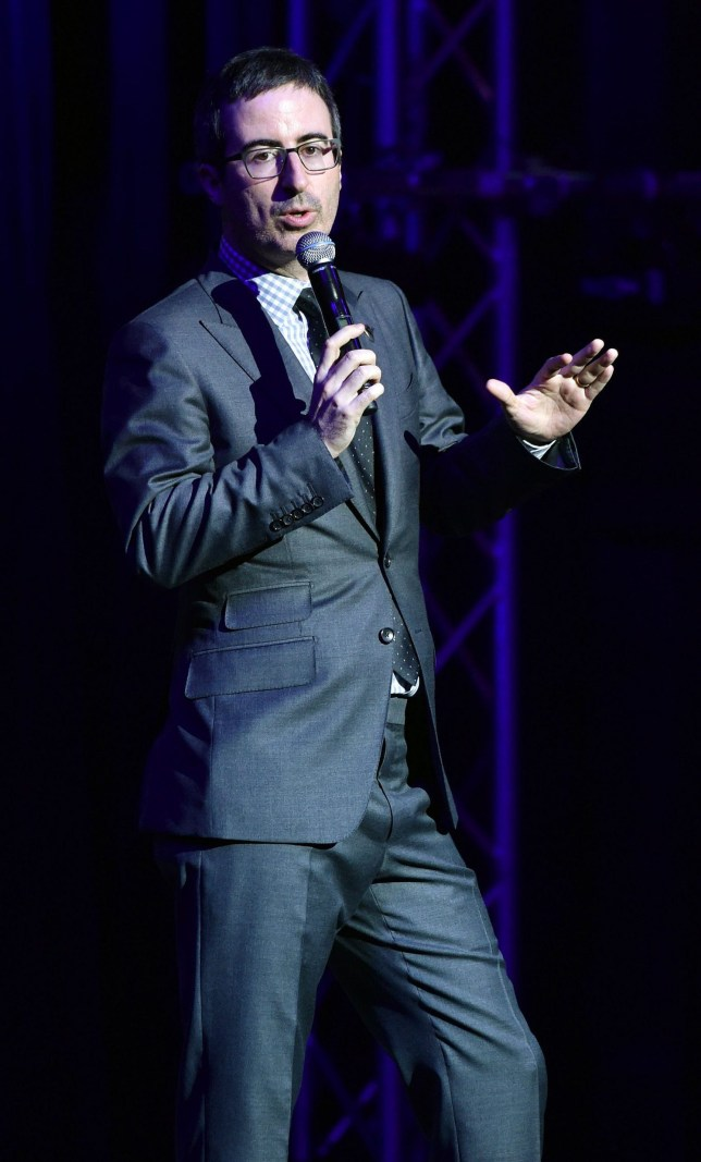 Mandatory Credit: Photo by Andrew Walker/Variety/REX/Shutterstock (5358037ac)nJohn OlivernStand Up for Heroes, Show, New York Comedy Festival, America - 10 Nov 2015nn