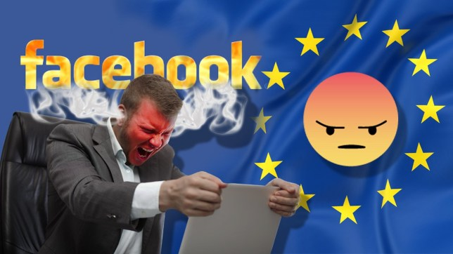 20 stages of falling out with your Facebook friends over politics facebook logo metro comp