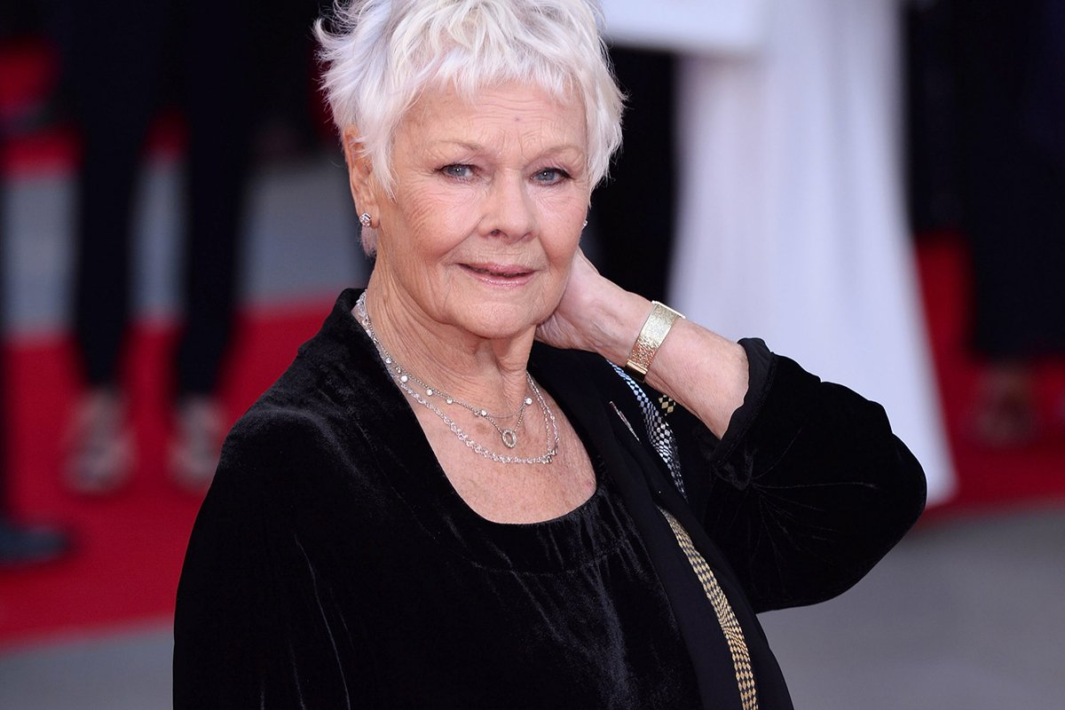 Dame Judi Dench just got her first ever tattoo – at the age of 81