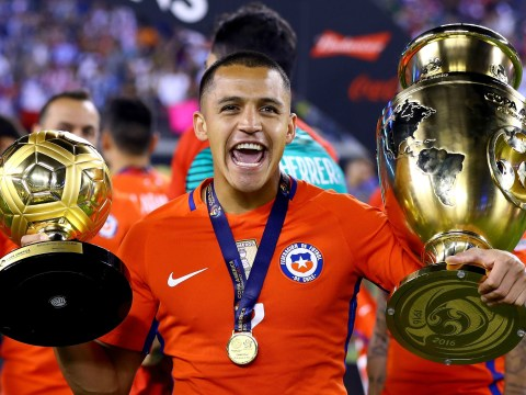 Arsenal star Alexis Sanchez wins Golden Ball as Chile are crowned Copa America champions