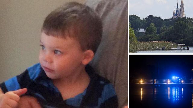 Pictured: Boy, 2, who died after he was dragged into water by alligator at Disney World