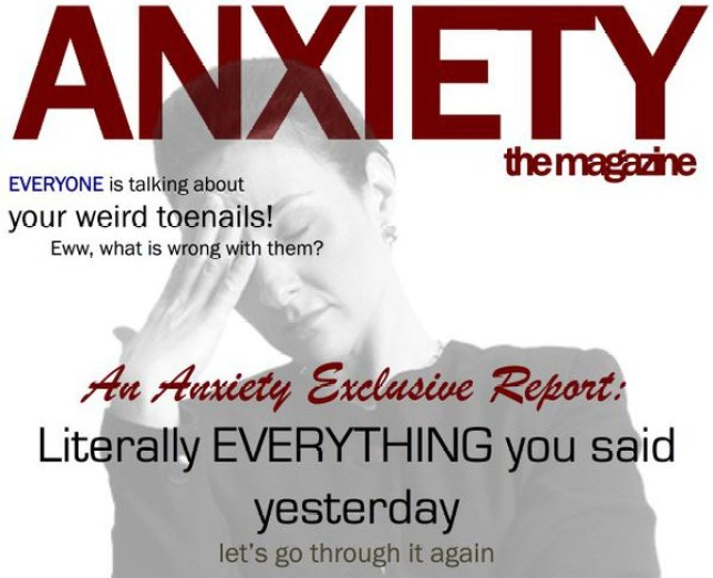 anxiety the magazine